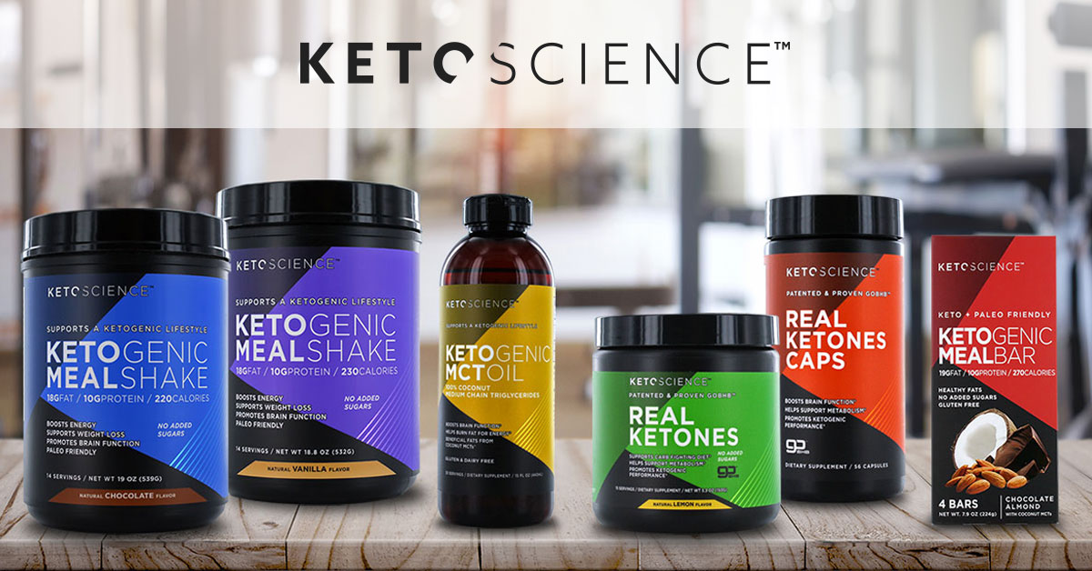 Keto Science | Your Source for Ketogenic Diet Foods and More