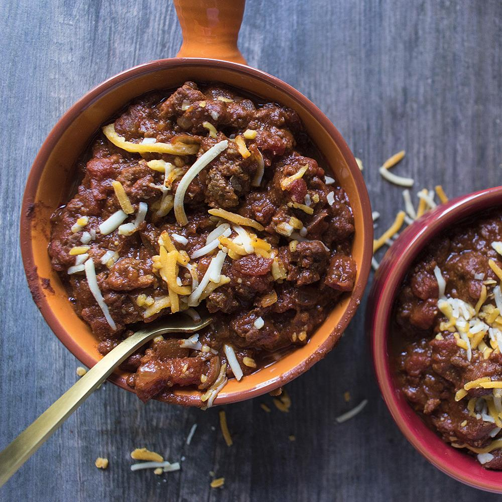Recipe - Beefy Chili