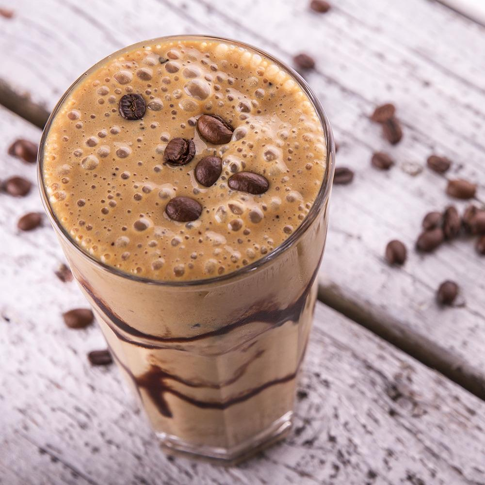 Velvety Chocolate Coffee Smoothie