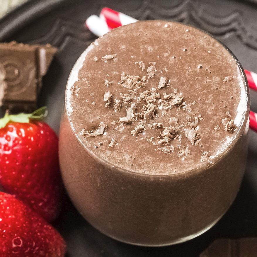 Recipe - Berry Good Chocolate Smoothie