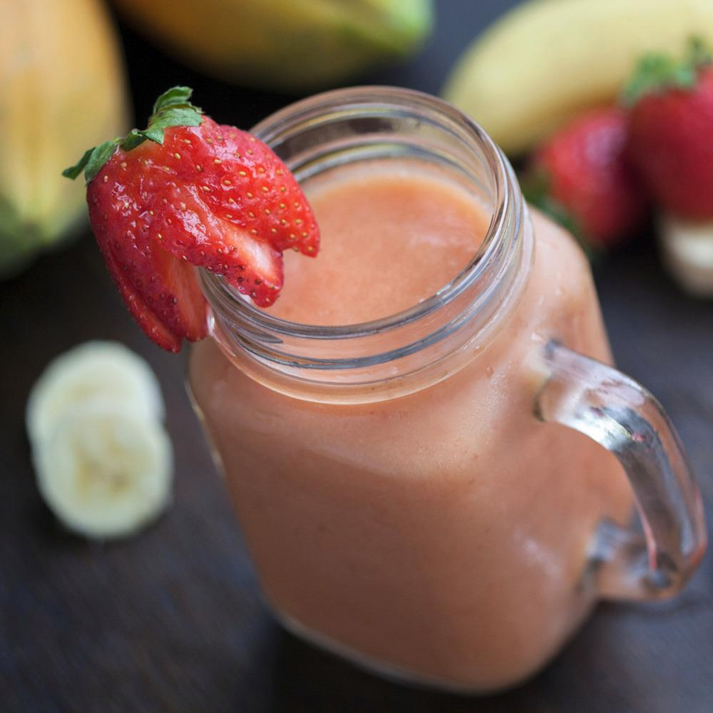 Recipe - Nutty Fruits & Protein Smoothie